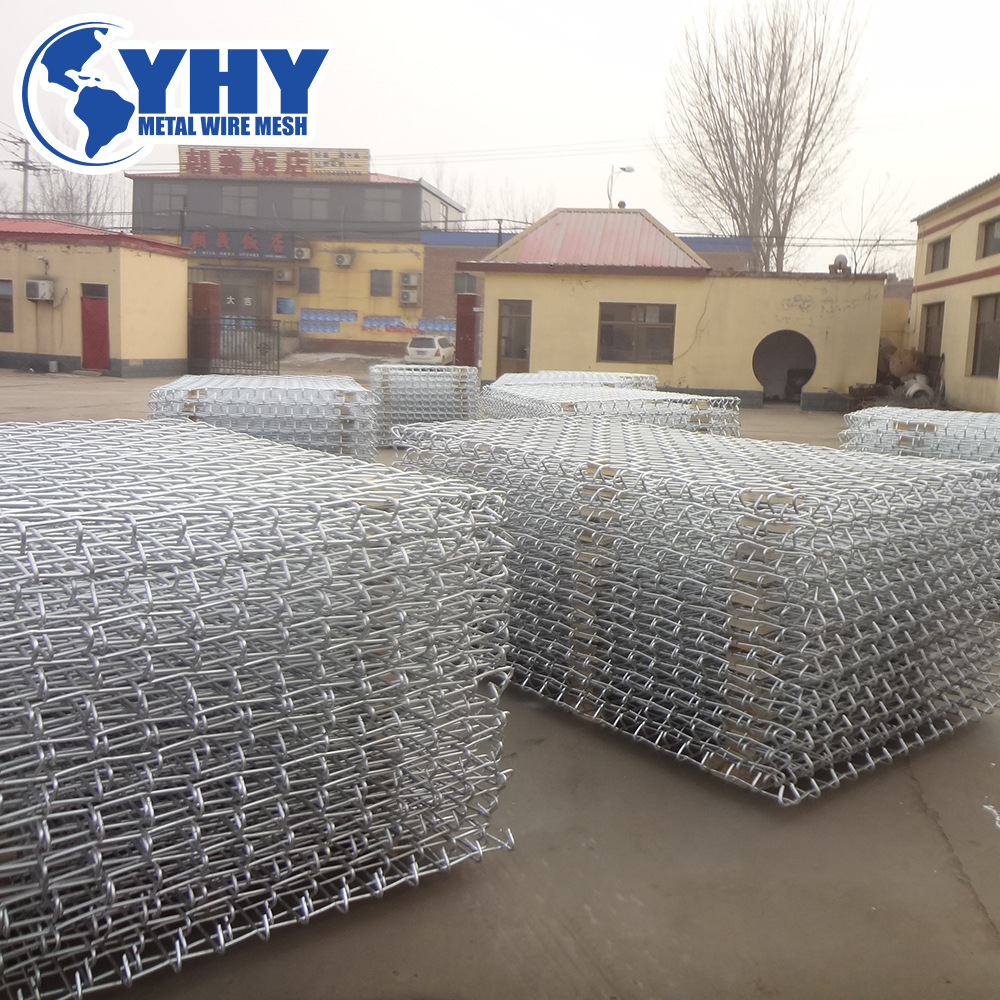 INTRODUCTION TO THE PRODUCTION PROCESS OF LARGE GALVANIZED WOVEN MESH